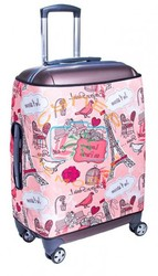 Чехол для чемодана Fancy Armor Pompidou размер M