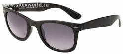 Солнцезащитные очки в черной оправе в стиле ретро \(для мужчин и женщин\) 768