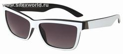 Солнцезащитные очки в черно-белой оправе \(для мужчин и женщин\) 771
