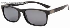 Поляризационные солнцезащитные очки в черной оправе 873B