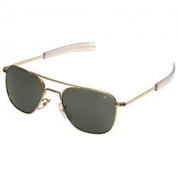Очки пилота AO® The ORIGINAL Pilot® Polarized Sunglasses 55mm - Gold Frame