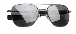 Очки пилота AO® The ORIGINAL Pilot® Polarized Sunglasses 55mm - Black Frame