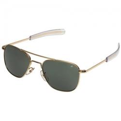 Очки пилота AO® The ORIGINAL Pilot® Polarized Sunglasses 52mm - Gold Frame