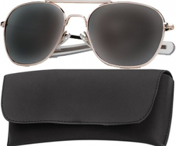 Очки пилота Pilots Sunglasses 58mm - Gold Frame & Smoke Lenses