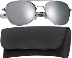 Очки пилота Pilots Sunglasses 58mm - Chrome Frame & Mirror Lenses