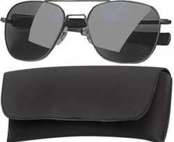 Очки пилота Pilots Sunglasses 58mm - Black Frame & Smoke Lenses