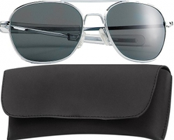 Очки пилота Pilots Sunglasses 52mm - Chrome Frame & Smoke Lenses