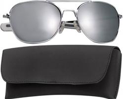 Очки пилота Pilots Sunglasses 52mm - Chrome Frame & Mirror Lenses